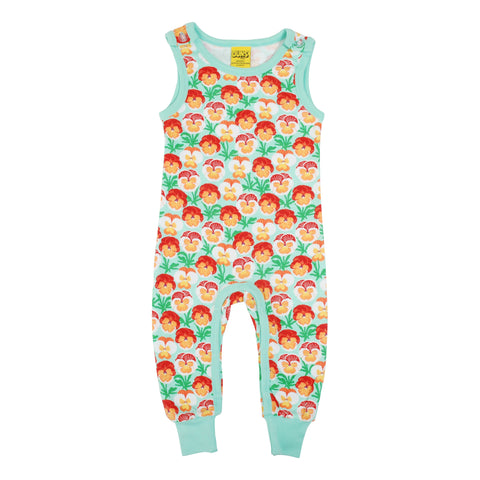 Pansy Beach Glass Dungaree