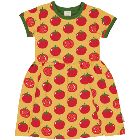 Tomato Twirly Dress