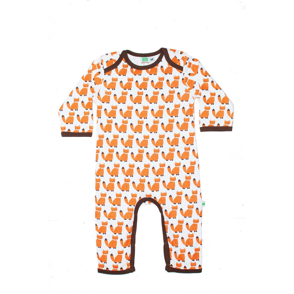 Orange Fox Jumpsuit