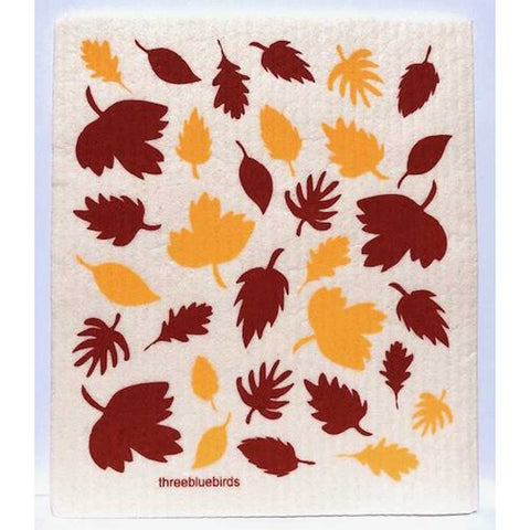 Fall Foliage Swedish Dishcloth