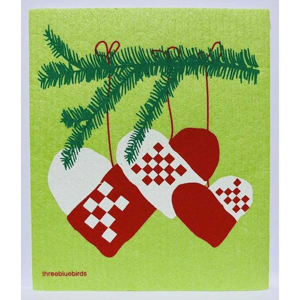 Nordic Hearts Swedish Dishcloth