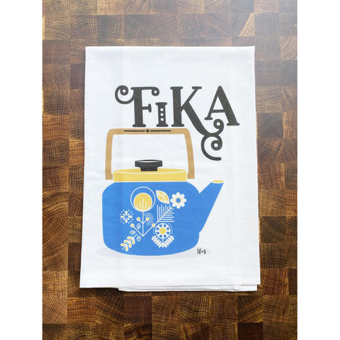 Fika Tea Towel