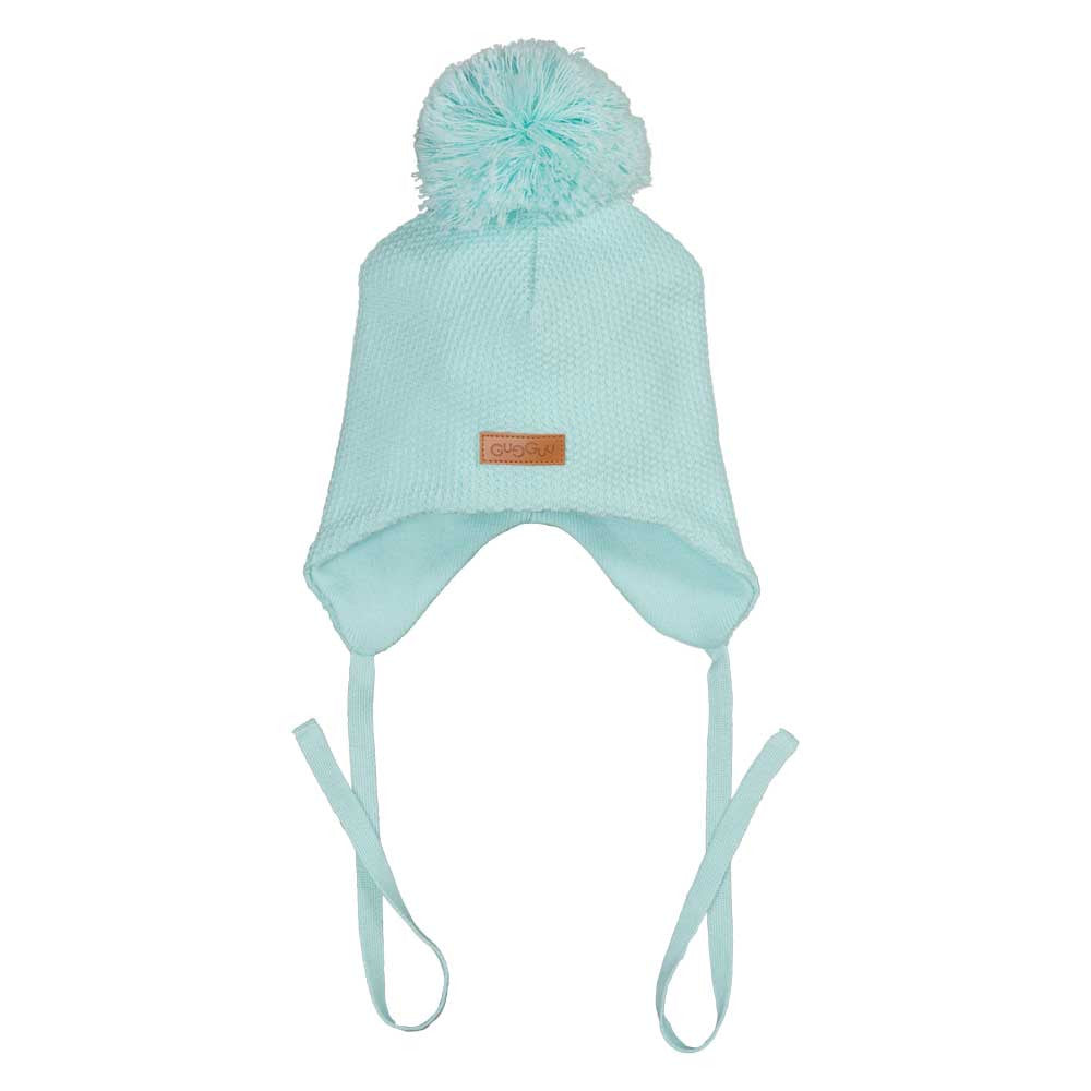 edd671e19c8fa Water Blue Hat with Ear Flaps – ittikid • Scandinavian Children s Clothes