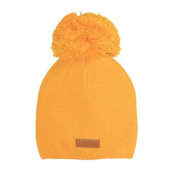 Sunny Yellow Hat with Tuft