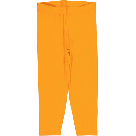 Tangerine Cropped Leggings