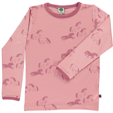 Long Sleeve Horse Shirt