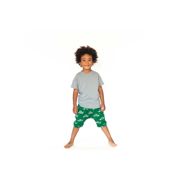 Snail Green Shorts