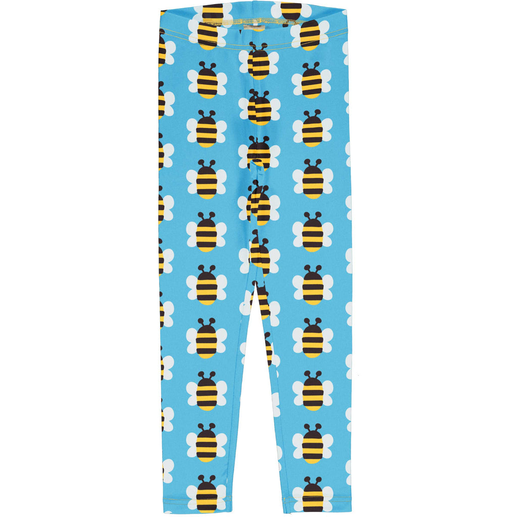 Blue Bumblebee Leggings