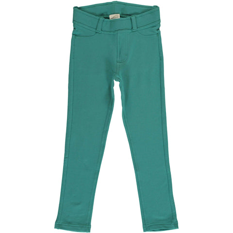 Treggings Sweat Teal Pants