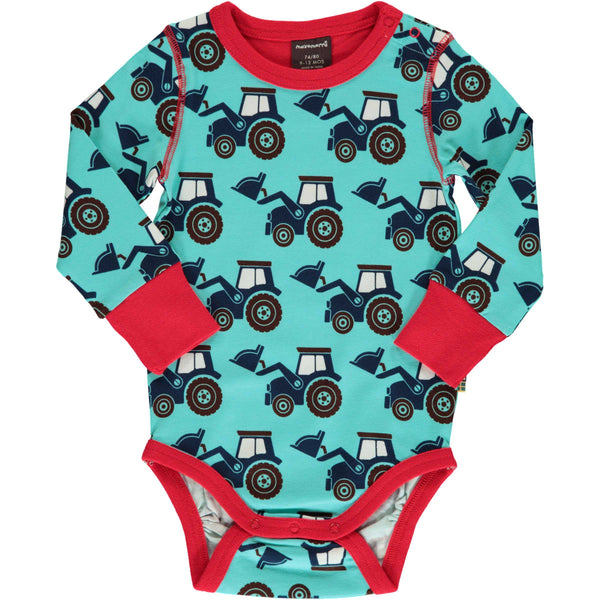 Classic Tractor Long Sleeve Onesie