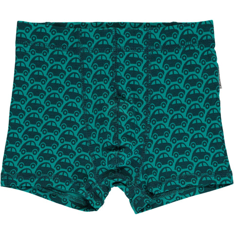 Turquoise Car Boxers
