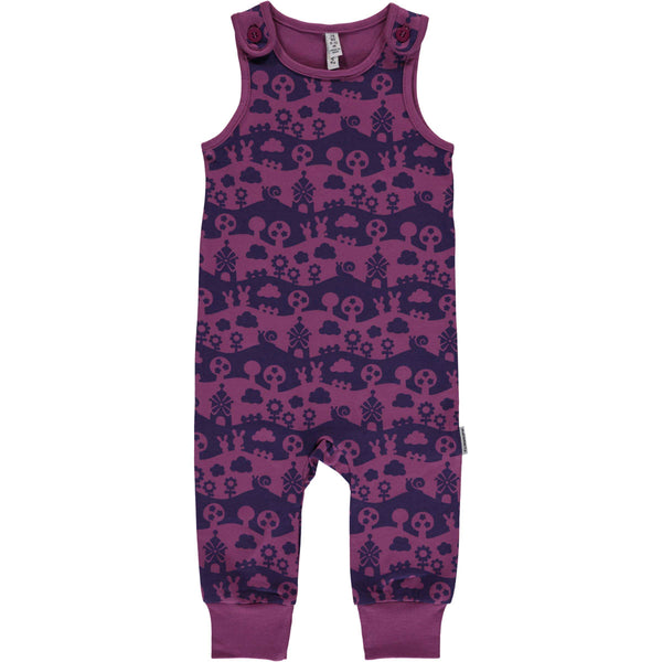 Dusty Purple Long Sleeve Onesie