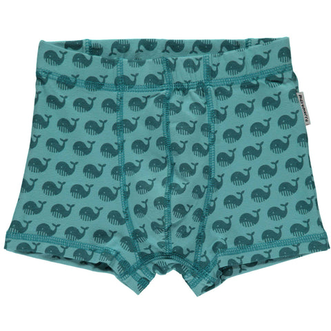 Teal Whale Boxers