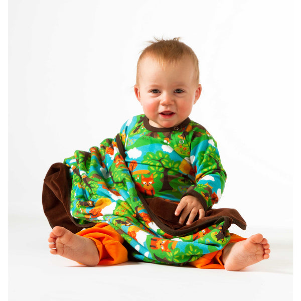 Little Wood Onesie