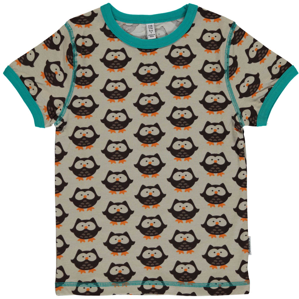 Owl Short Sleeve Shirt