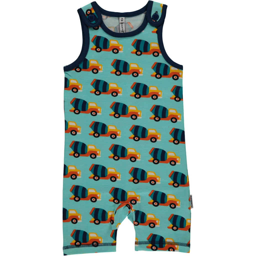 Cement Truck Summer Playsuit