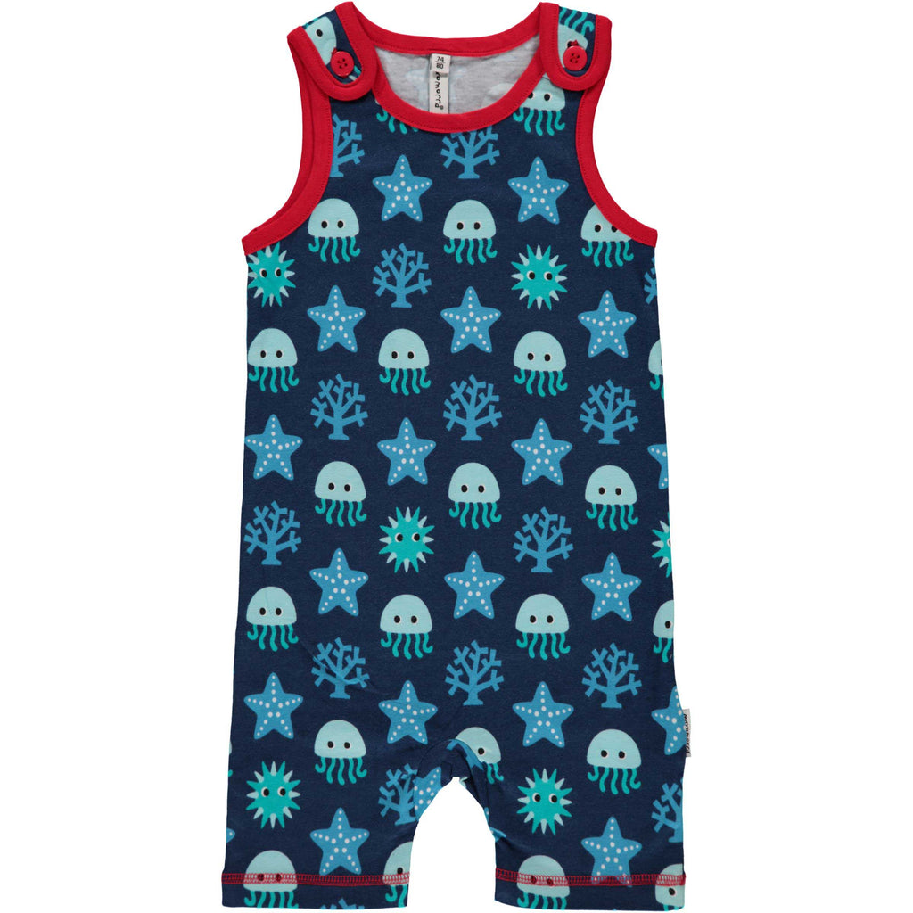 Deep Sea Summer Playsuit