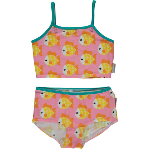 Two Piece Goldfish Swimsuit