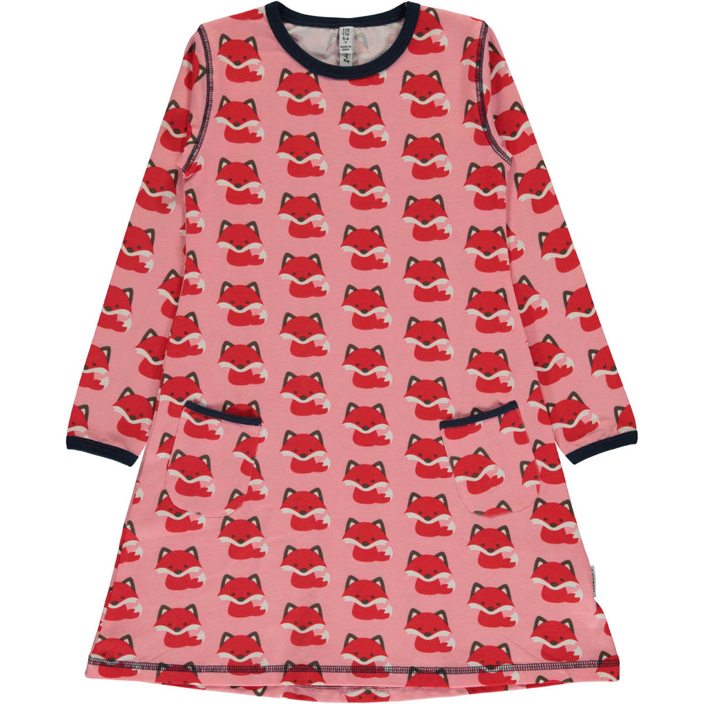 Scandi Fox Tunic Dress