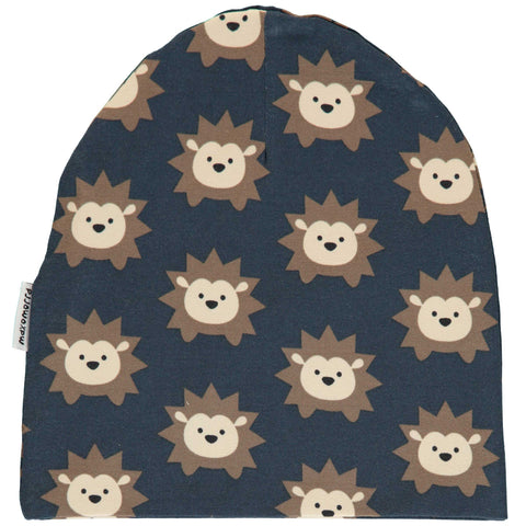 Navy Hedgehog Hat