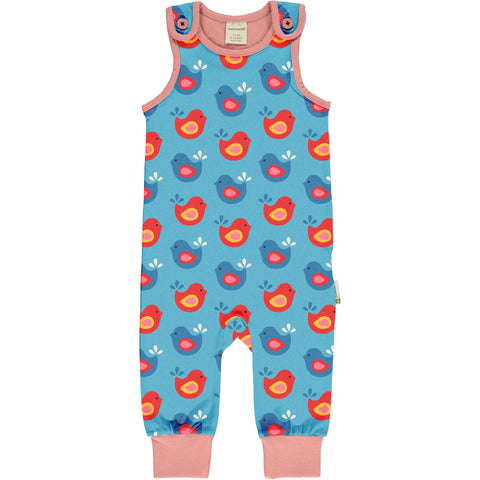 Bright Birds Romper