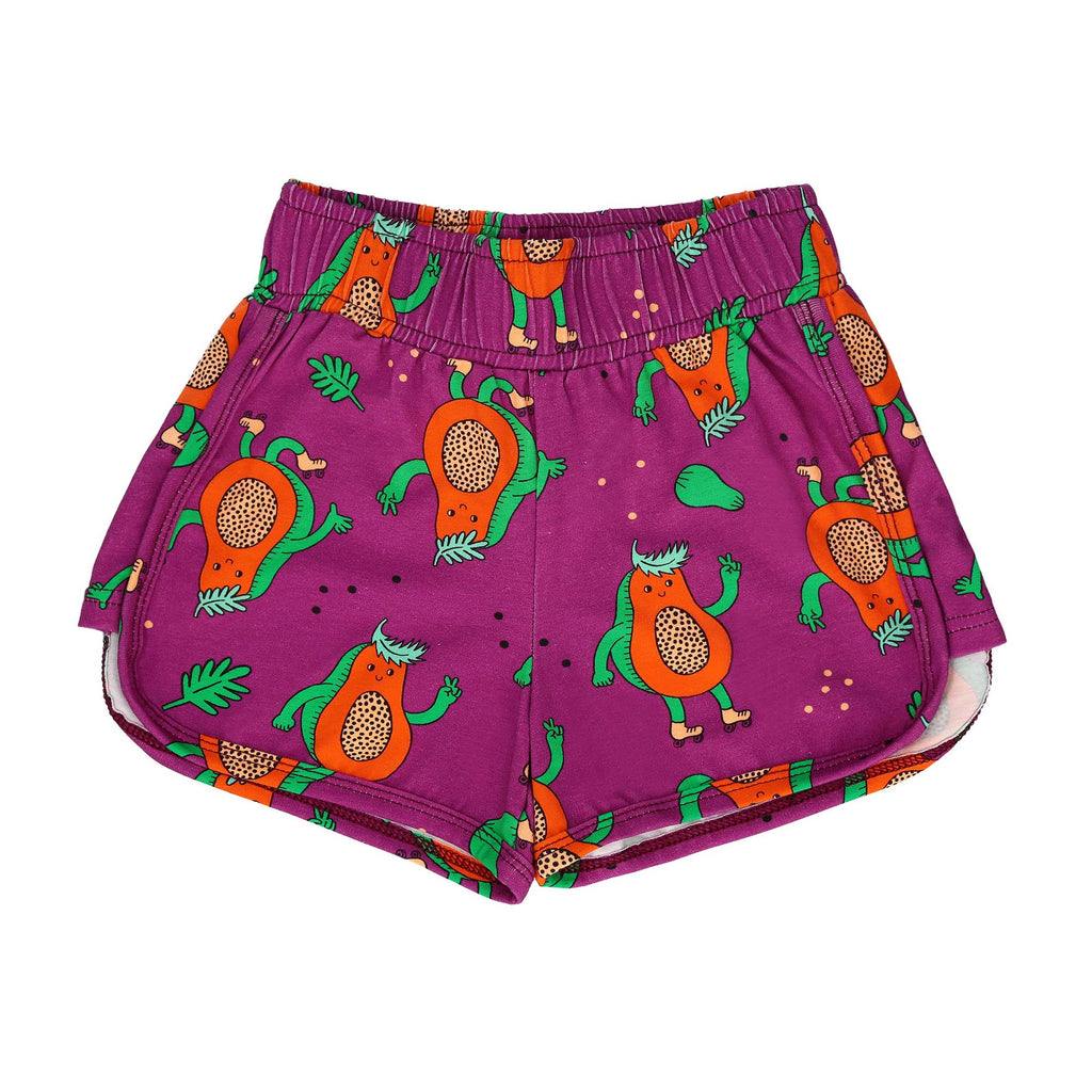 Papaya Power Shorts