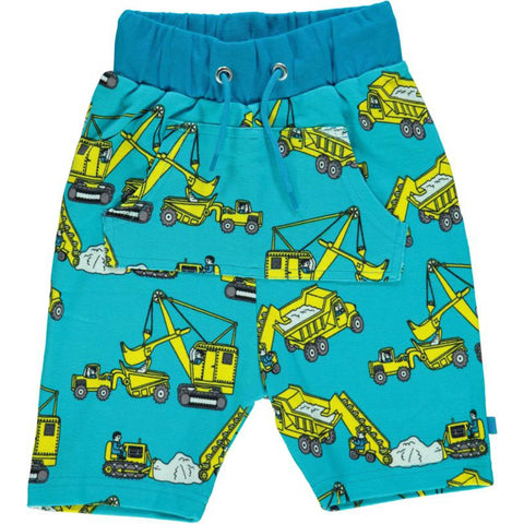 Blue Machine Shorts