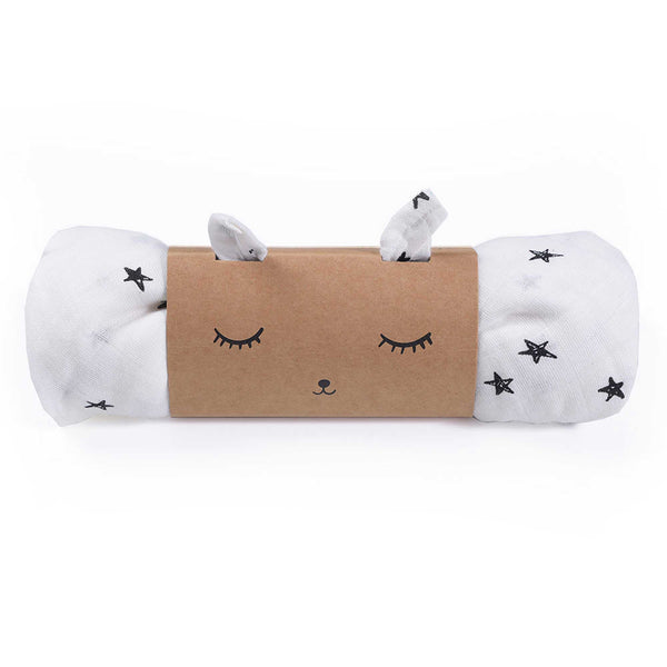 Star Organic Muslin Swaddle