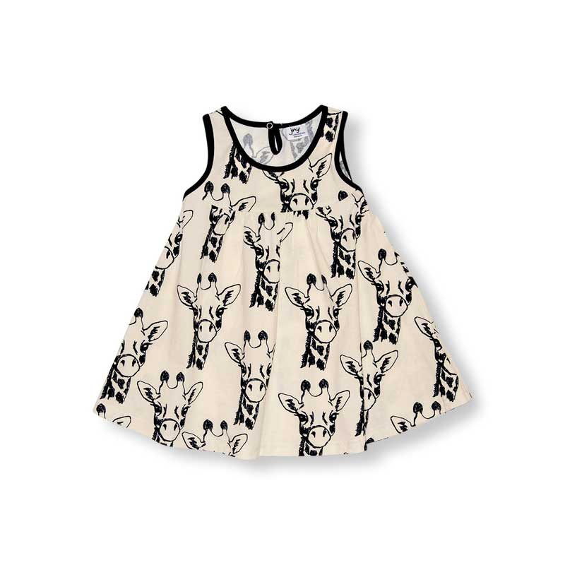 Giraffe Twirly Dress