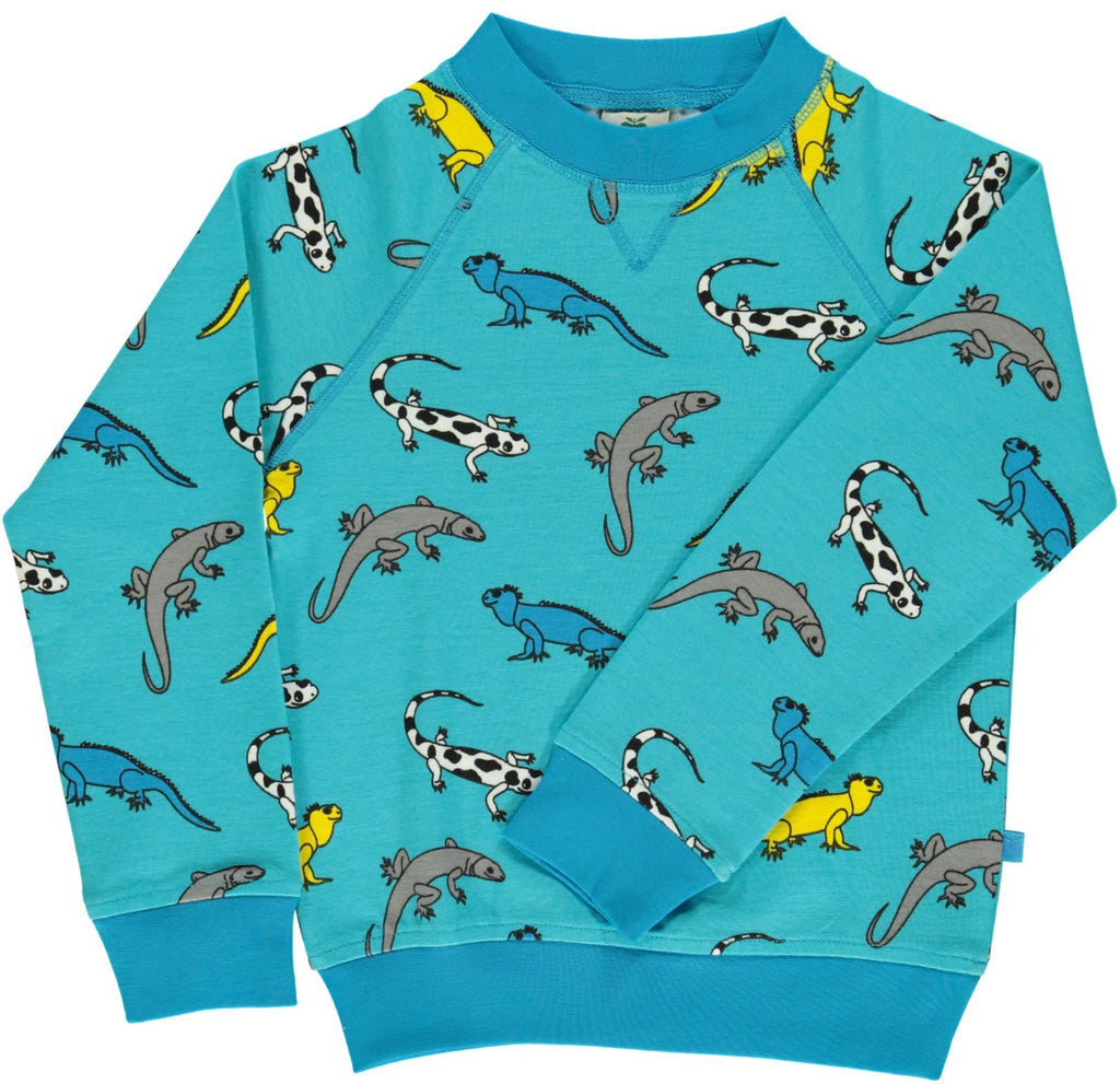 Blue Lizard Sweatshirt