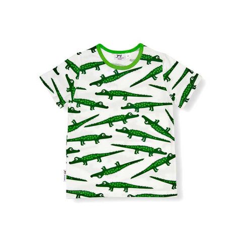 Green Crocodile T-Shirt