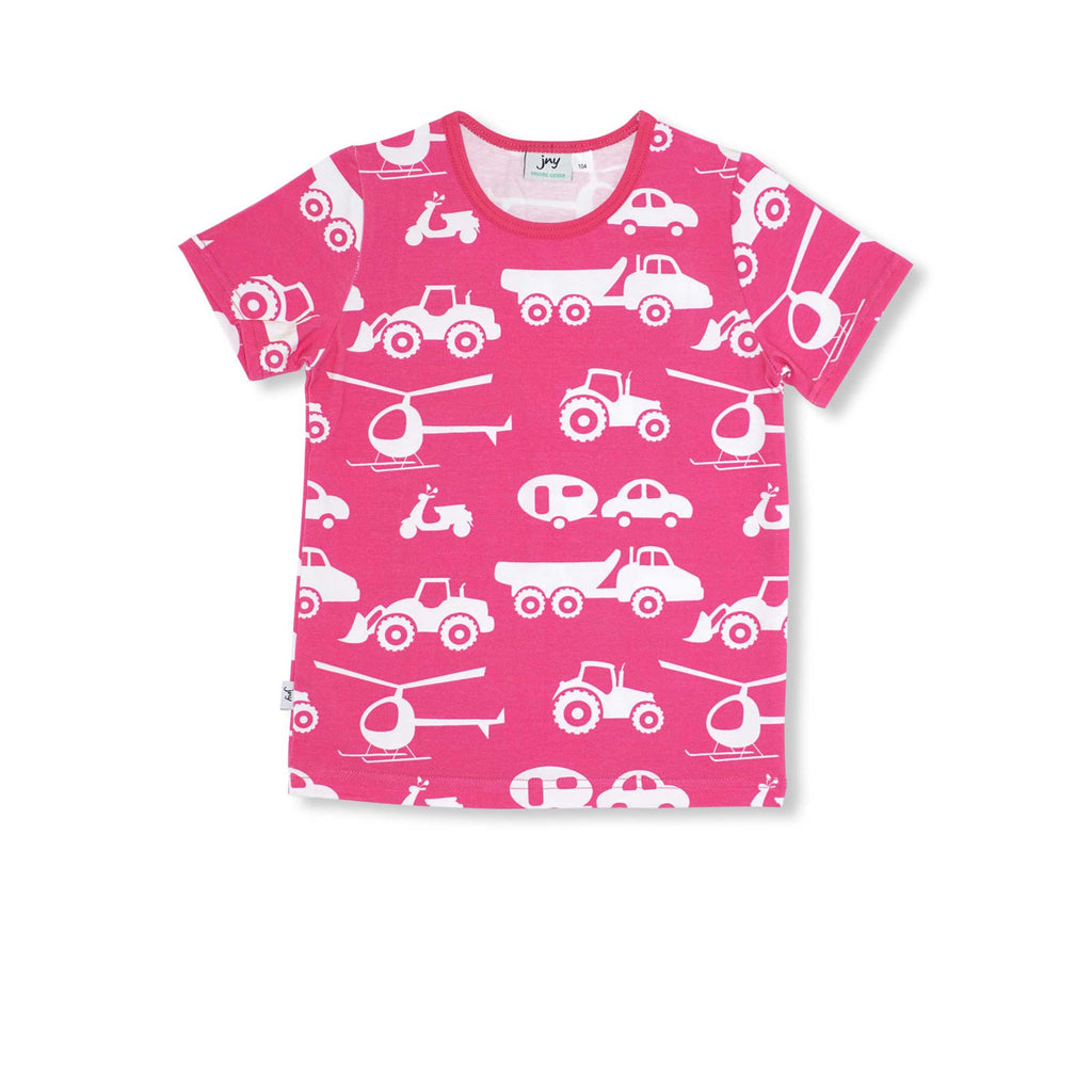 Pink Vehicle T-Shirt