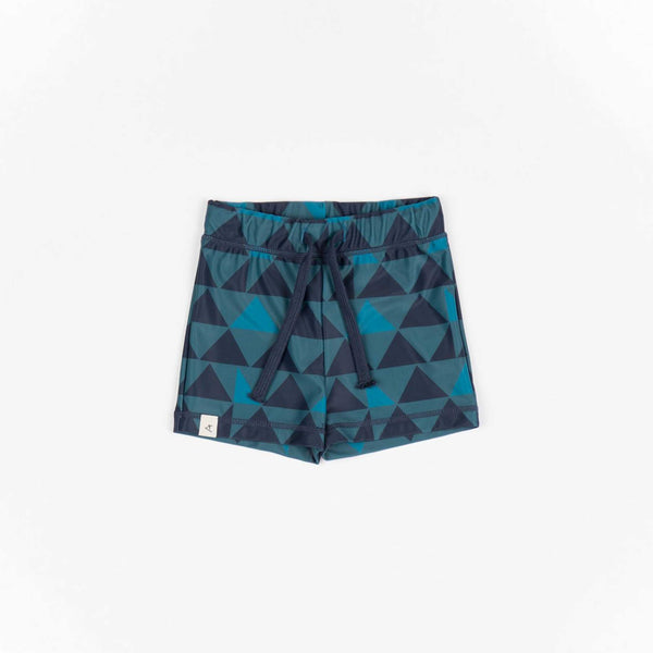 Blue Traingles Swim Shorts