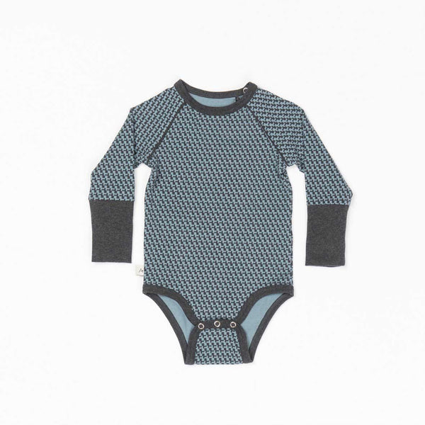 Blue Mirage Cubes Onesie