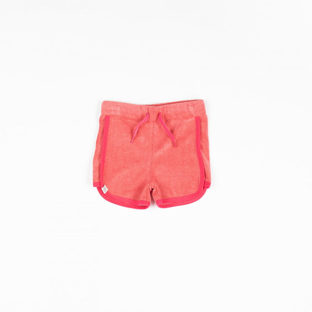 Tea Rose Terrycloth Shorts