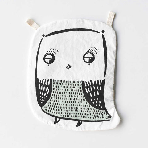 Organic Owl Crinkle Toy
