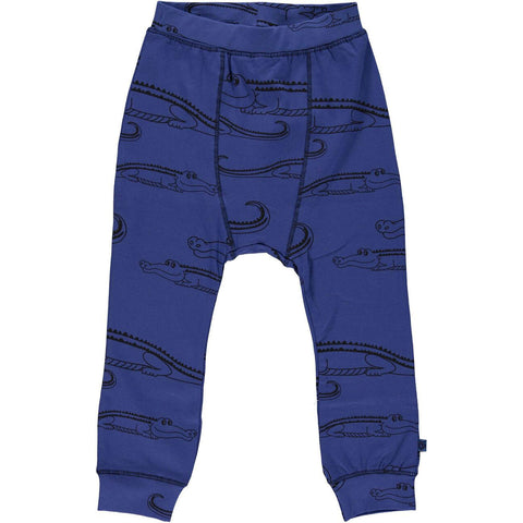 Crocodile Pants Blue