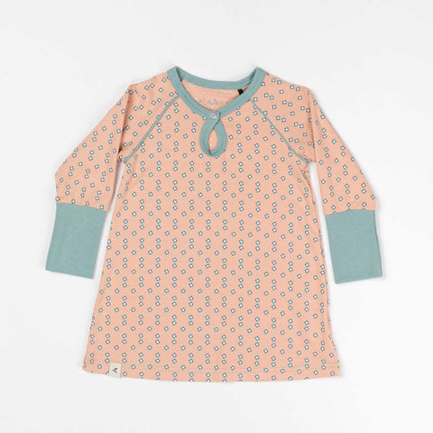 Dusty Rose Baby Dress