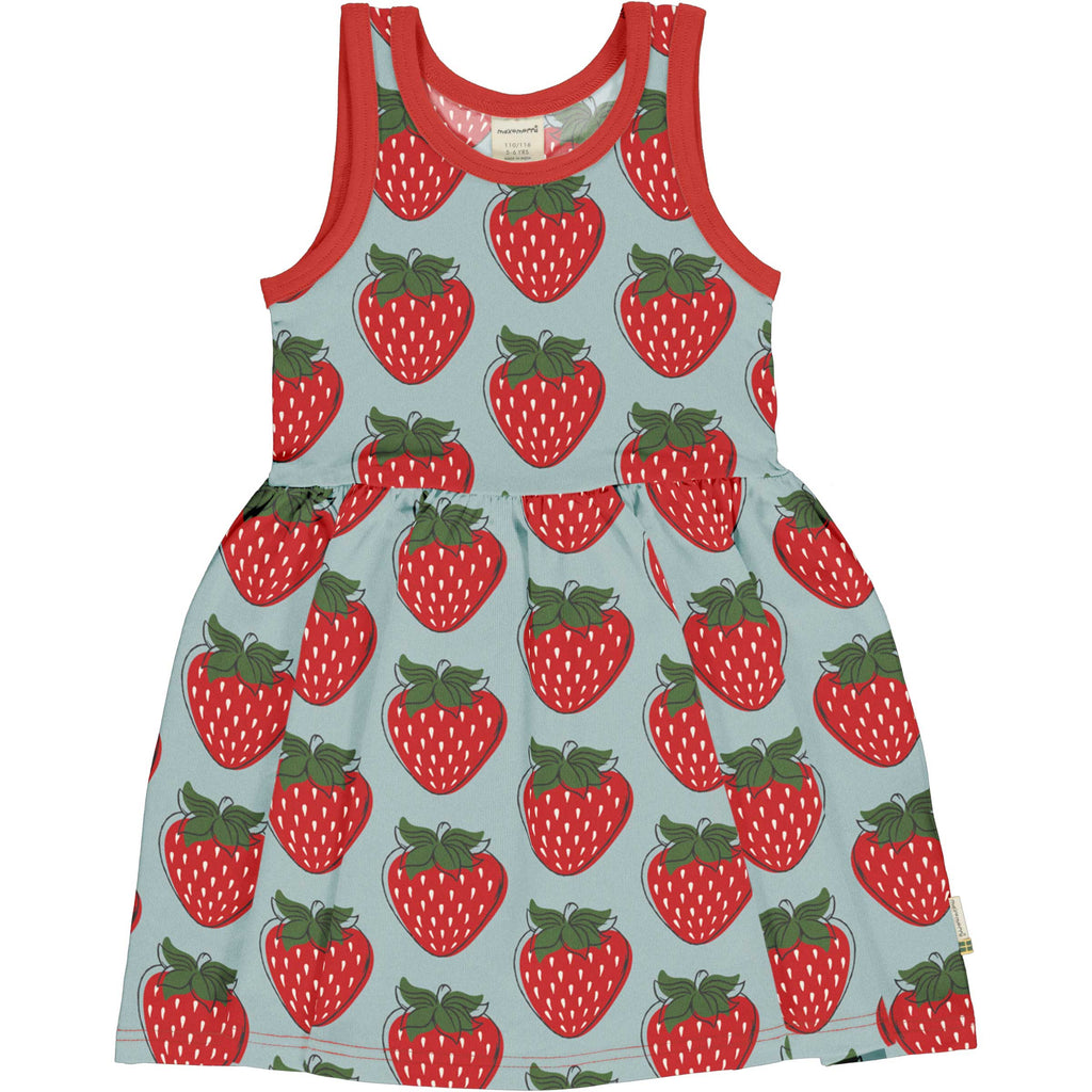 Twirly Strawberry Dress