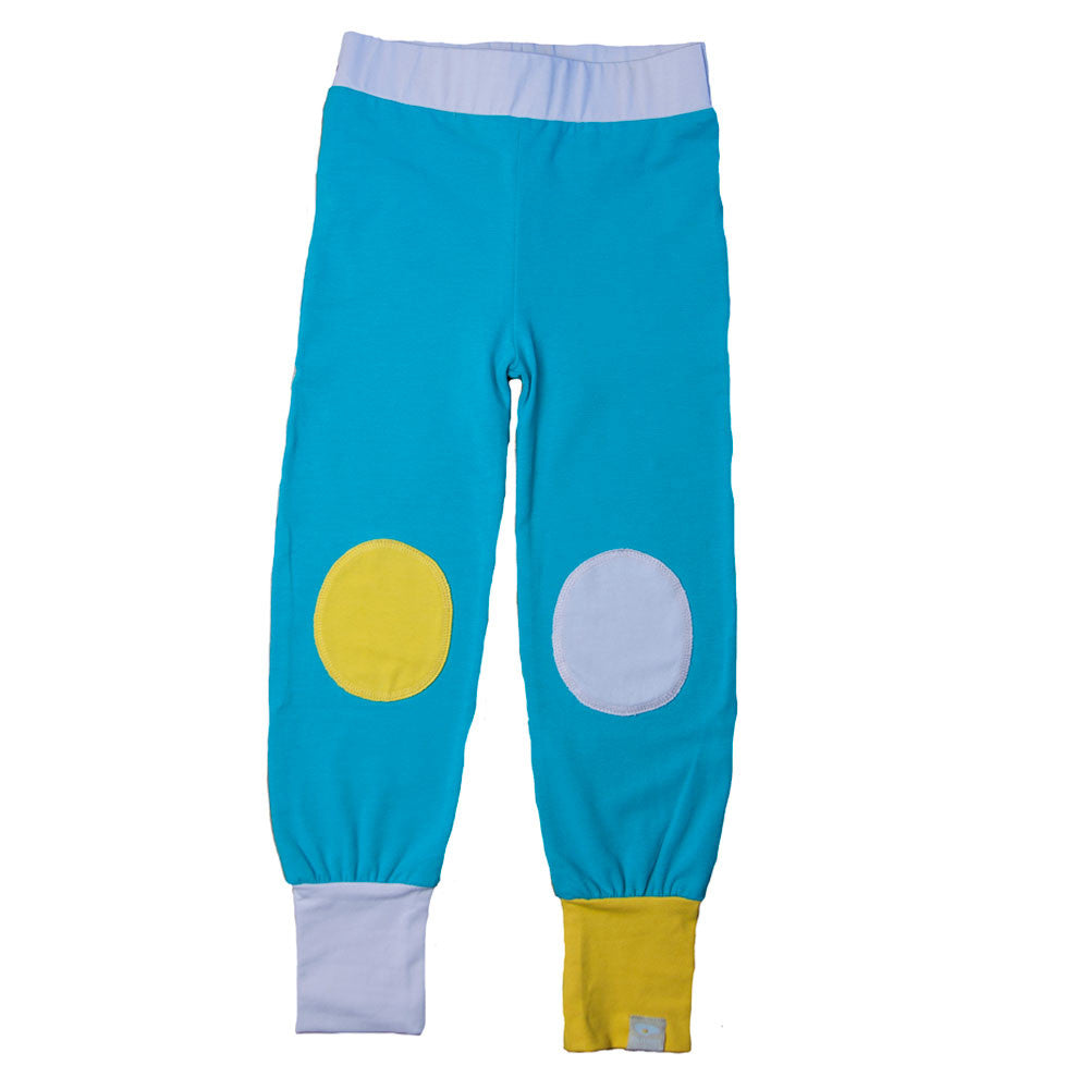 Blueprint Knee Pants Turquoise