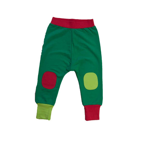 Baggy Pants Green and Red