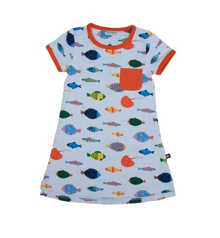 T-Shirt Dress Fish Life