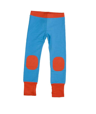 Blue Pants with Patches
