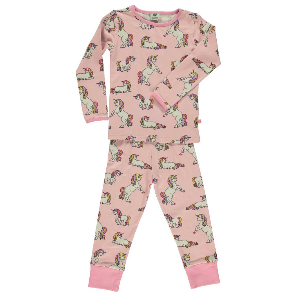 Coral Unicorn Pajamas