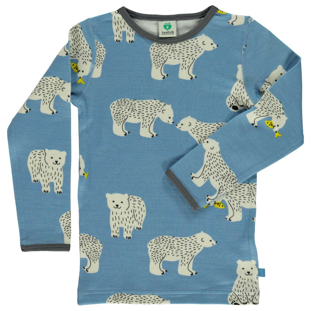Polar Bear Wool/Cotton Shirt