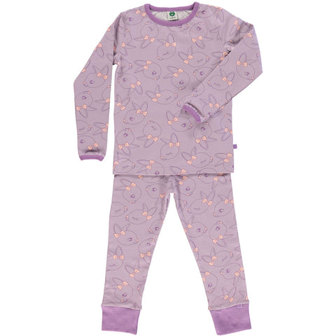 Purple Rabbit Pajamas