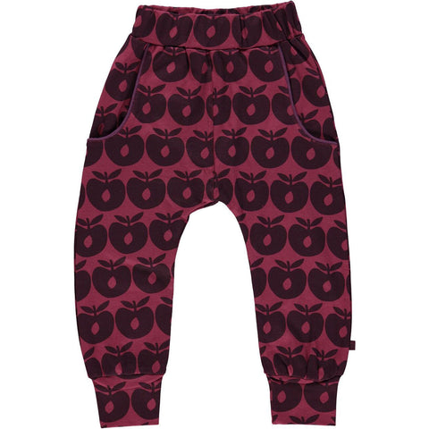 Apple Pants Maroon