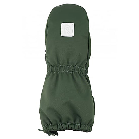 Tassu Dark Green Toddler Mittens