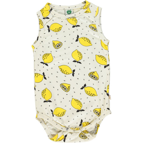 Sleeveless Lemon Onesie