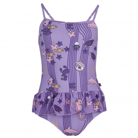 Purple Ocean Swimsuit